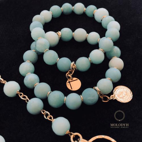 Комплект браслетов Ментол