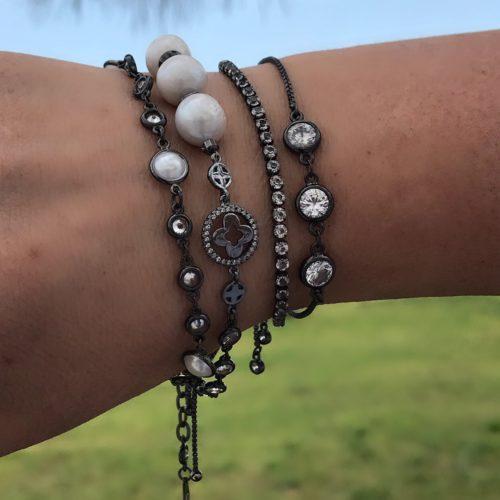 Комплект браслетов на цепочке