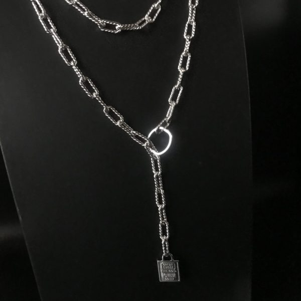 Комплект женских цепей на шею