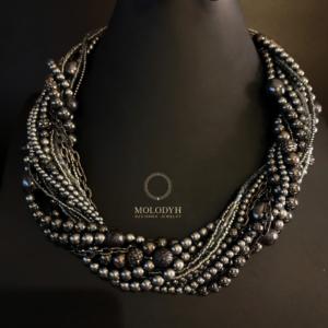 Ожерелье на шею из камней