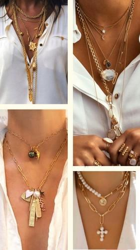 крупное украшение нашею цепи цепочки женские серебро золото картинки