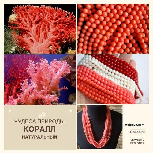 украшения из натуральных камней интернет магазин украшения из коралла